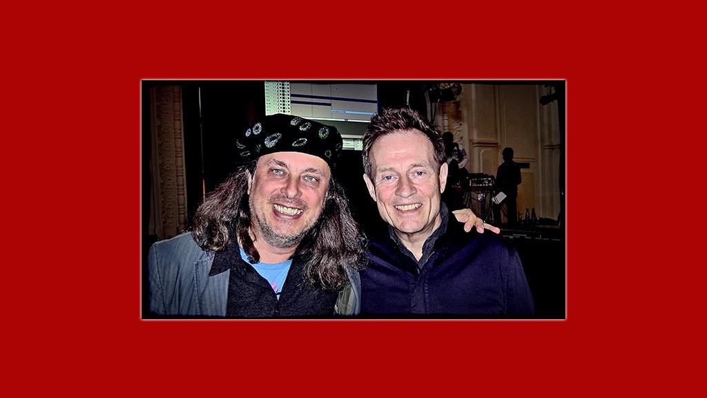 Erwin Kiennast & John Paul Jones (Led Zeppelin)