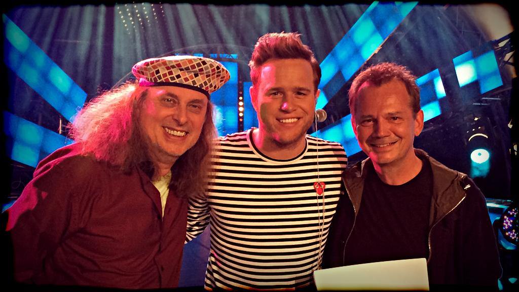 Kiennast & Weichselbaum mit dem britischen Superstar Olly Murs